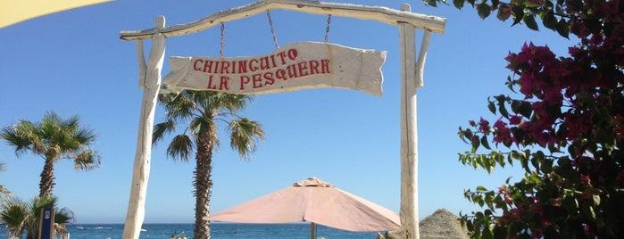 Chiringuito La Pesquera is one of Marbella.