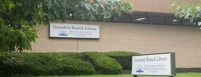 Greenbelt Branch Library is one of My remote office(s).