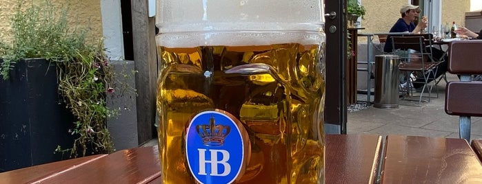 Hofbräu am Oberwiesenfeld is one of Munich places to take visitors to.