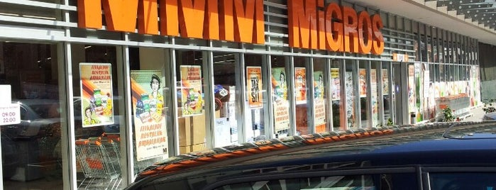 Migros is one of Orte, die H gefallen.