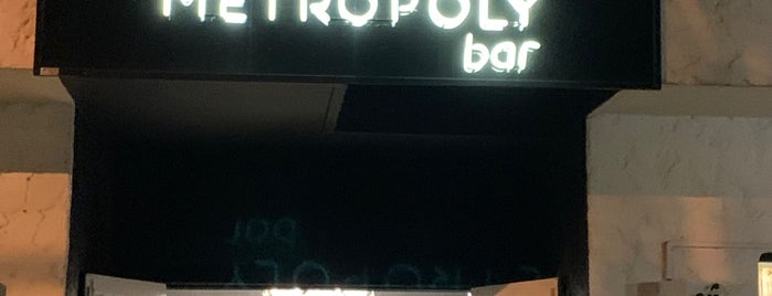 Metropoly Bar is one of Camila Marcia 님이 좋아한 장소.