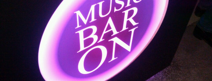 MusicBarOn is one of Locais salvos de Alisa.