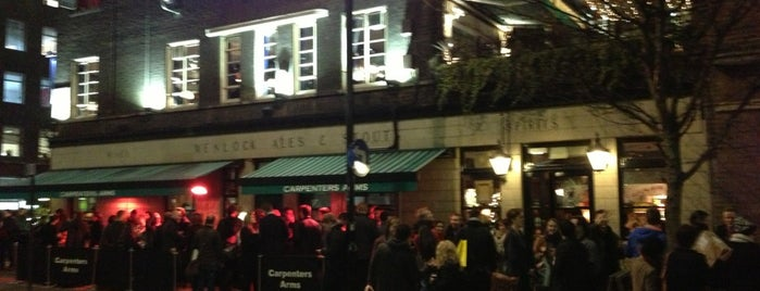 Carpenters Arms is one of London To-Do!.