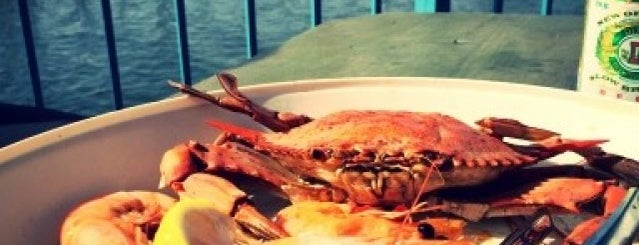 The Blue Crab is one of Eat. Play. Live..
