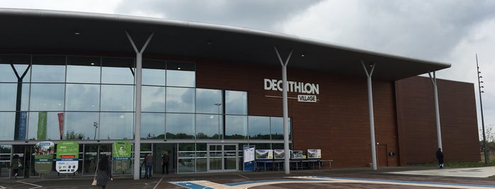 Decathlon is one of Mulhouse.