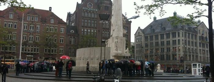 De Bijenkorf is one of amsterdam.