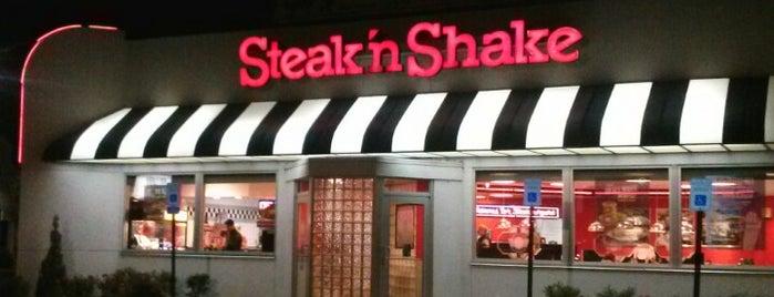 Steak 'n Shake is one of Kellie : понравившиеся места.