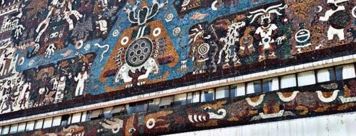 Ciudad Universitaria is one of MEXICO CITY.