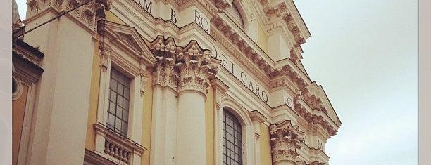 Basilica dei Santi Ambrogio e Carlo al Corso is one of Rome / Roma.