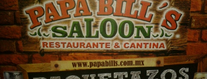 Papa Bill's Saloon is one of Locais curtidos por Fernando.