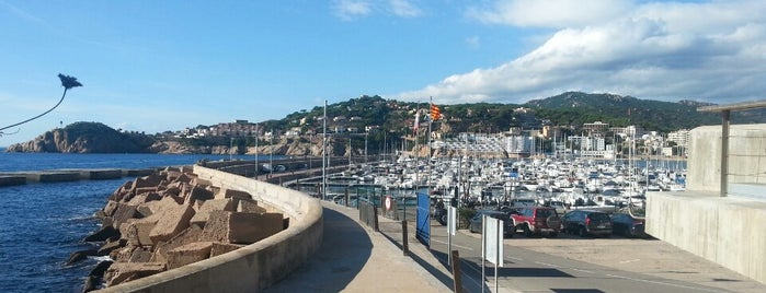 Port de St. Feliu de Guíxols is one of Carlosさんのお気に入りスポット.