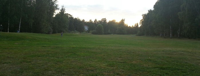 Munkkiniemen frisbeegolfrata is one of Top Picks for Disc Golf Courses 2.