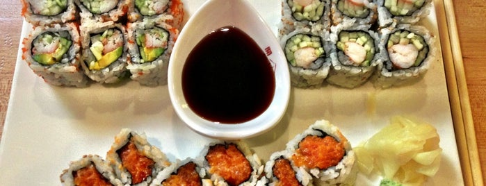 Jebon Sushi And Noodle is one of Locais curtidos por IrmaZandl.