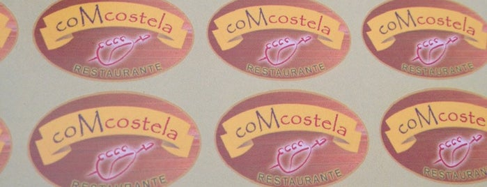 coMcostela Restaurante is one of Lieux sauvegardés par Giovanna.