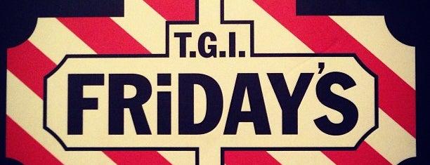 TGI Fridays is one of Orte, die Mahi gefallen.