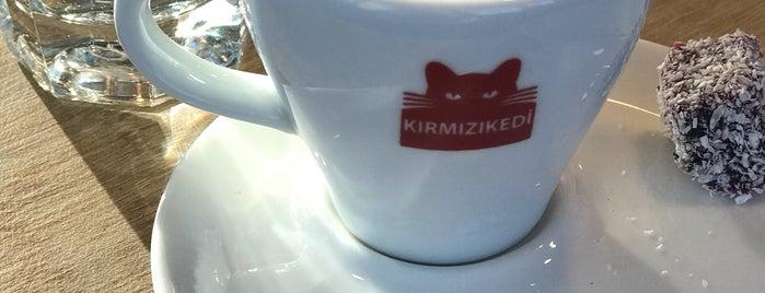 Kırmızı Kedi Kitabevi is one of Kitap-Kahveler İstanbul.