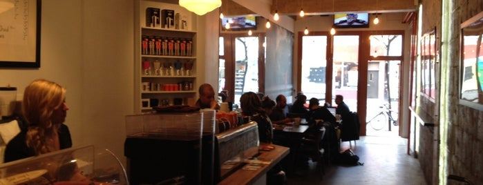 Edgar Café is one of Top café coffee shops Montreal.