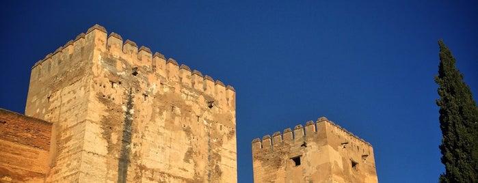 Alcazaba is one of Granada.