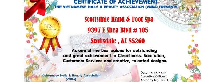 Scottsdale Hand & Foot Spa is one of George 님이 저장한 장소.