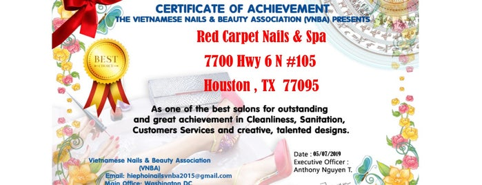 Red Carpet Nails & Spa is one of To Do!!.