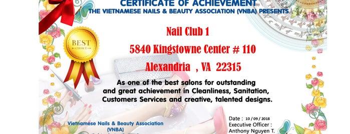 Nail Club is one of Tempat yang Disukai Isabella.