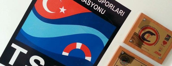 Kapadokya Dalış ve Doğa Sporları Merkezi is one of Kamil: сохраненные места.