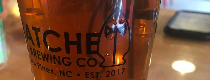 Hatchet Brewing Company is one of Breweries or Bust 4.