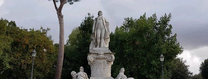 Statua di Goethe is one of ROME - ITALY.