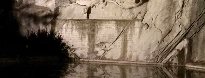 Löwendenkmal | Lion Monument is one of Codyさんのお気に入りスポット.