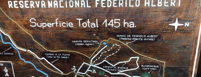 Reserva Nacional Federico Albert is one of Lieux qui ont plu à Eduardo.