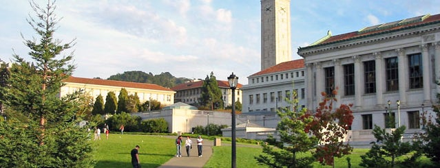 University of California, Berkeley is one of Lieux qui ont plu à David.