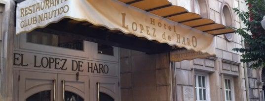Hotel López de Haro is one of Hoteles en España.