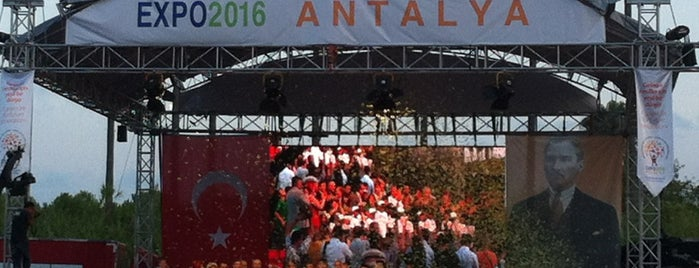 Expo 2016 Antalya is one of antalya rota.