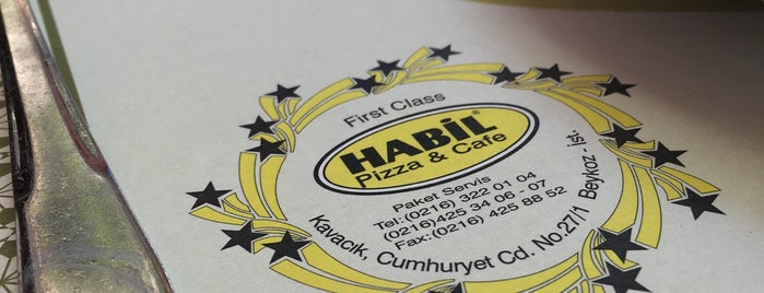 Habil Pizza & Cafe is one of Posti che sono piaciuti a ENES.