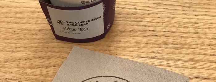 The Coffee Bean & Tea Leaf is one of Natalie : понравившиеся места.