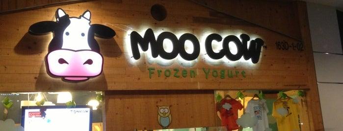 Moo Cow Frozen Yogurt is one of Lugares guardados de Hirorie.