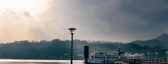 關渡碼頭 Guandu Wharf is one of Taiwan.