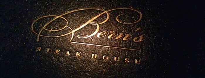 Bern's Steak House is one of The Best Of Tampa Bay.