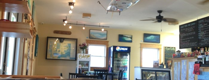 Waveriders Coffee & Deli is one of Nags head.