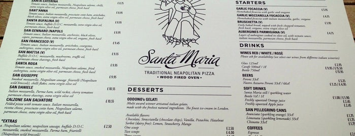 Santa Maria Pizzeria is one of Post-it.