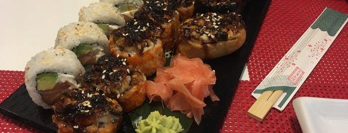 AmiJami Sushi is one of Sushi Sampler.