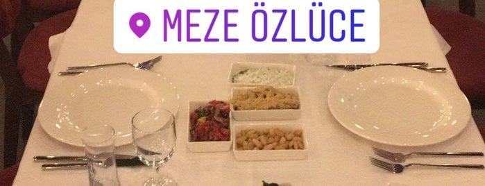 Meze Özlüce is one of Bursa.