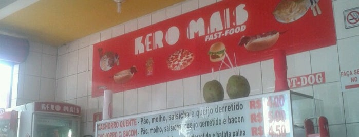 Kero Mais Lanches is one of Barzinhos -Formosa.