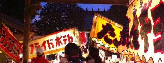 上祖師谷神明社 is one of せたがや百景 100 famous views of Setagaya.