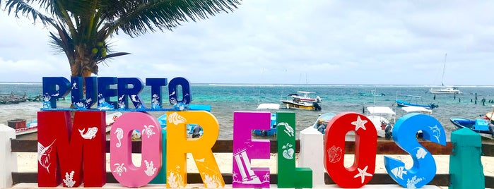 Puerto Morelos is one of Riviera Maya.