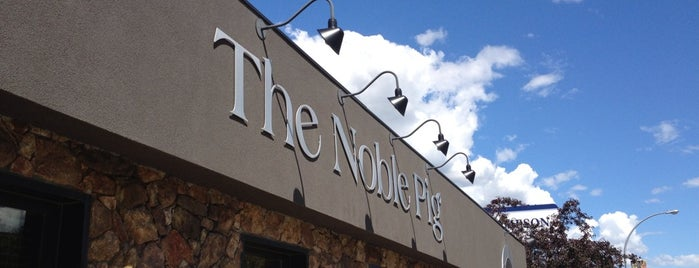 The Noble Pig Brewhouse & Restaurant is one of Canada - Kamloops.