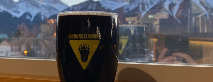 Grizzly Paw Brewing is one of Banaff.