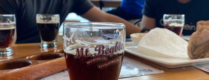 Mt. Begbie Brewing Co. is one of Banff-Revelstoke.