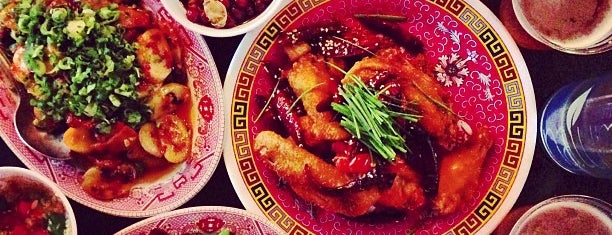 Mission Chinese Food is one of The Locals Only Guide to Eating & Drinking in NYC.