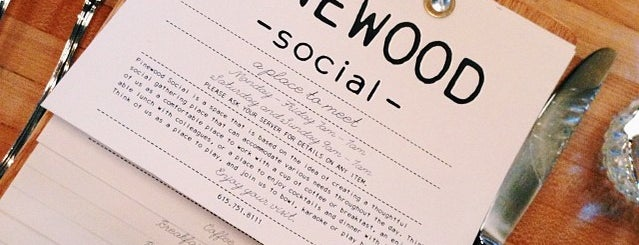 Pinewood Social is one of The south.